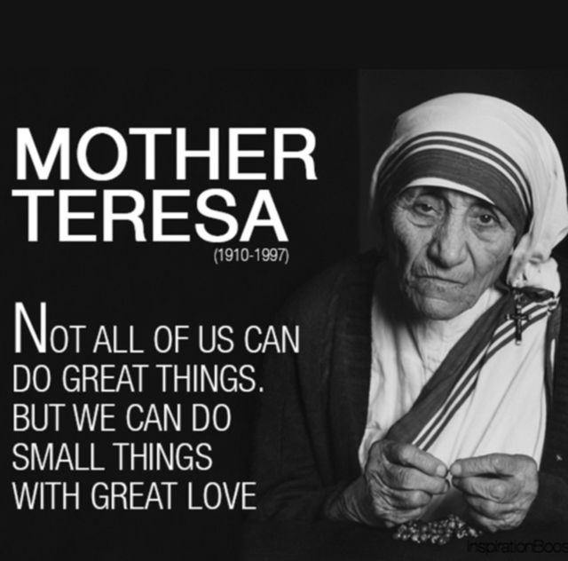 Nadia Themis Blog - Mother Teresa