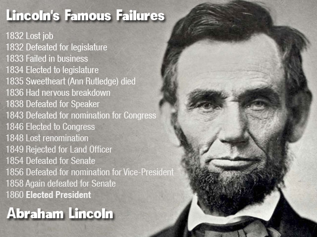 Nadia Themis Blog - Lincoln's Failures