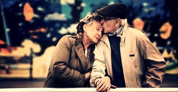 Nadia Themis Blog - Old couple love